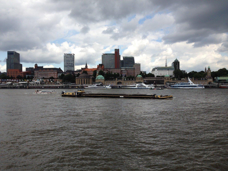 Hamburgo desde Aussichtspunkt - Steinwerde.