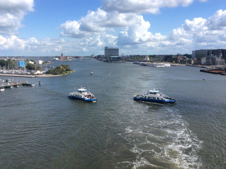 Saliendo de Amsterdam