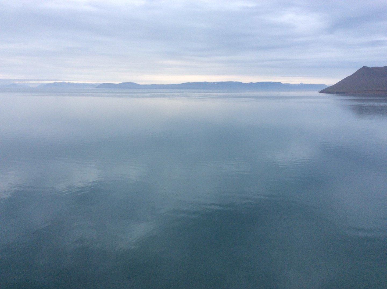 Isfjorden desde Longyearbyen