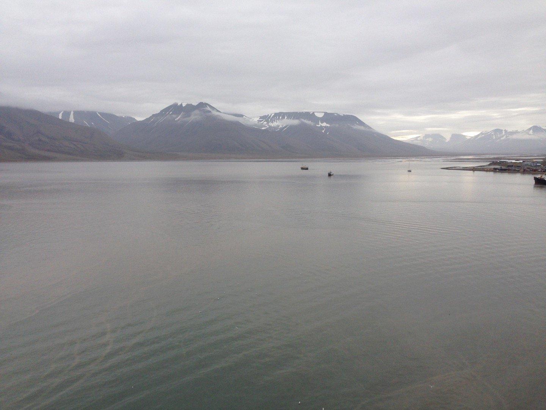 Adventfjorden desde Bykaia