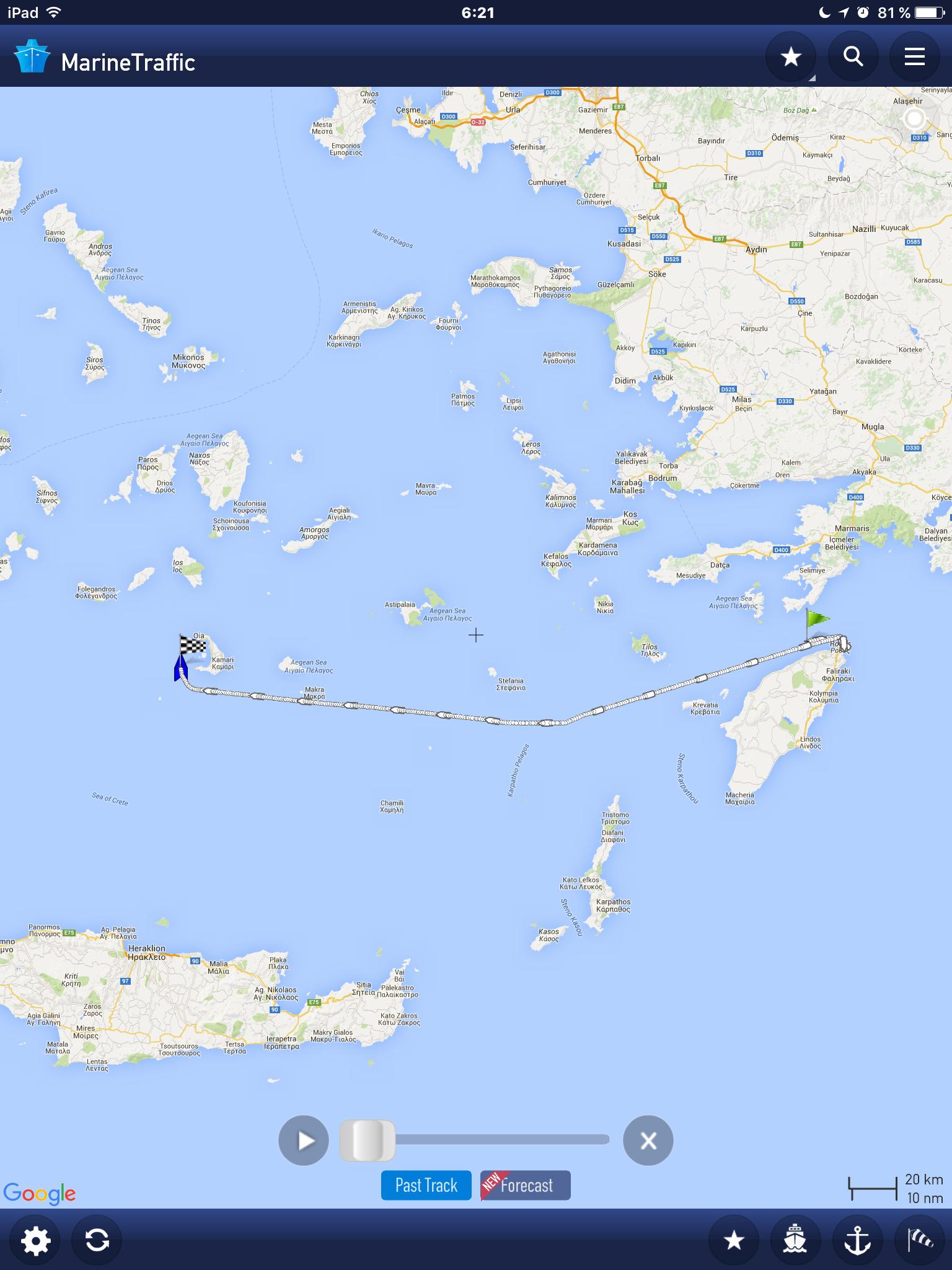 De Rodas a Santorini