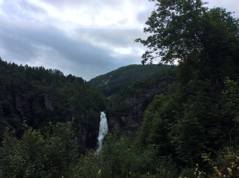 Descendiendo la carretera Stalheimskleiva