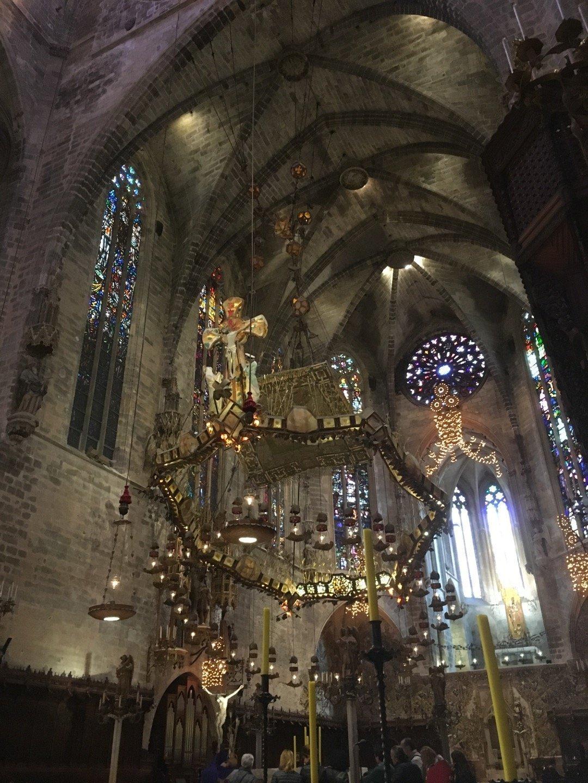 Baldaquino de la Catedral de Palma.