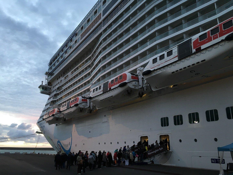 Embarcando en Livorno