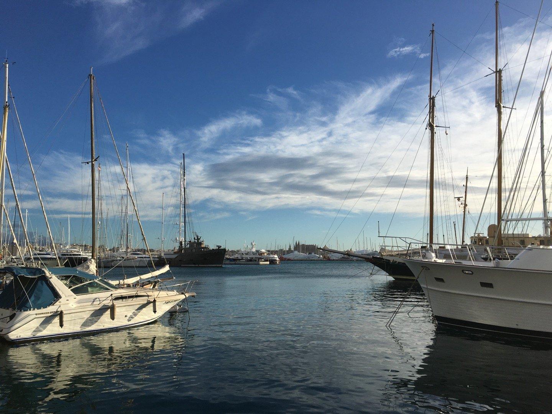Puerto deportivo de Palma.
