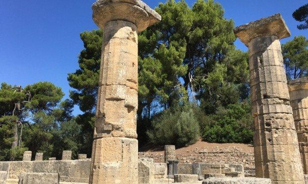 Un paseo por las ruinas de Olimpia