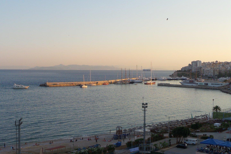 Las islas Sarónicas desde El Pireo