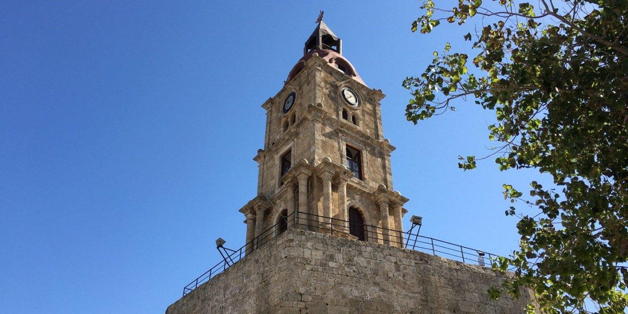 La Torre del Reloj de Rodas